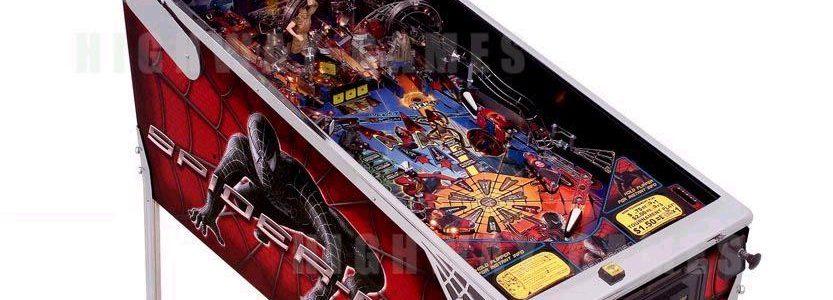 Black Spiderman Pinball